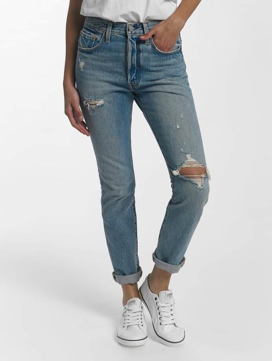Levis Damen Skinny Jeans 501 Skinny In Blau 437633
