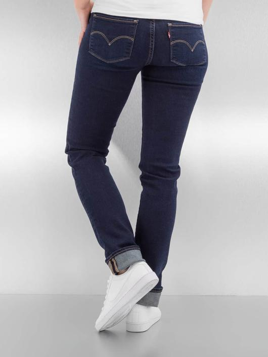 levi 39 s jeans slim fit jeans 712 in blauw 335622. Black Bedroom Furniture Sets. Home Design Ideas