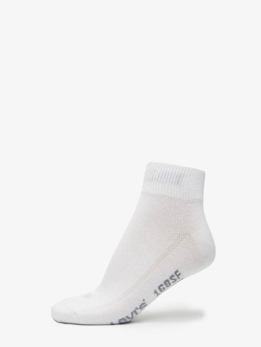 Levi's® Socken Mid Cut weiß