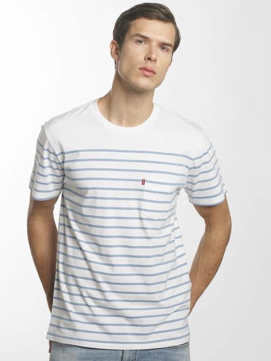 Levi's® t-shirt Set In Sunset Pocket blauw