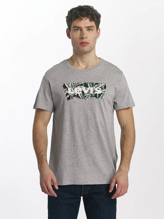Levi's® t-shirt Housemark Graphic grijs