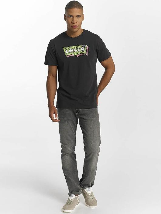 Levi's® t-shirt Housemark Graphic zwart