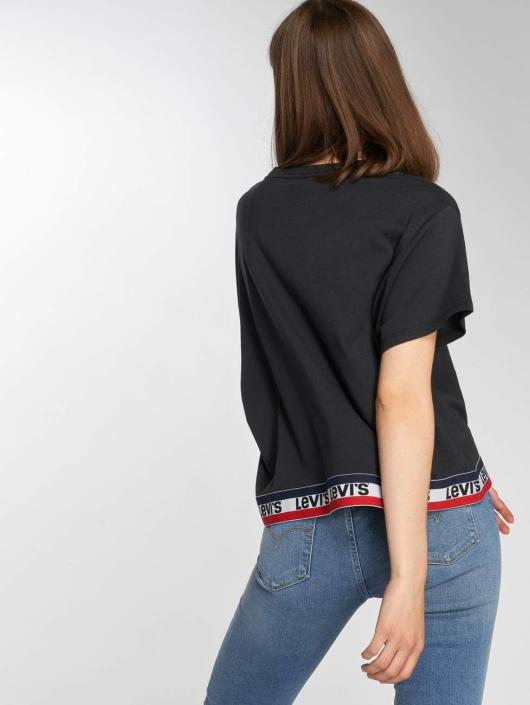 Levi's® t-shirt Graphic J.V. zwart