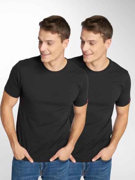 Levi's® T-Shirty 2-Pack czarny