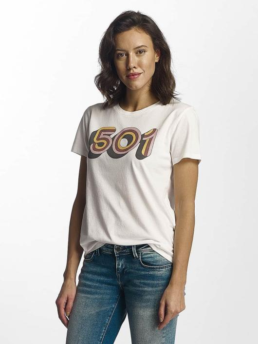 Levi's® T-skjorter Retro 501 hvit