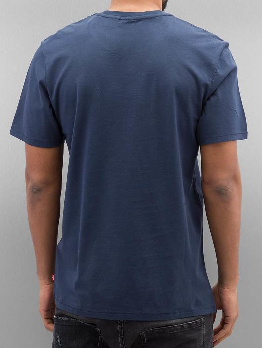Levi's® Tričká Graphic Set-In modrá