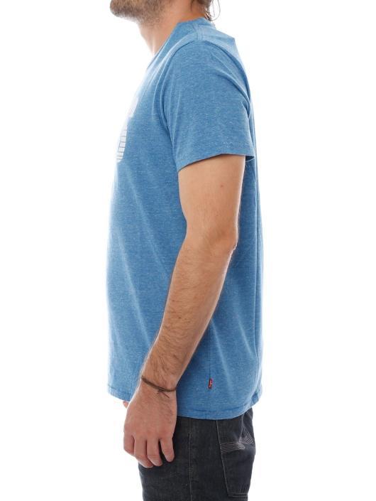 Levi's® Tričká Graphic modrá