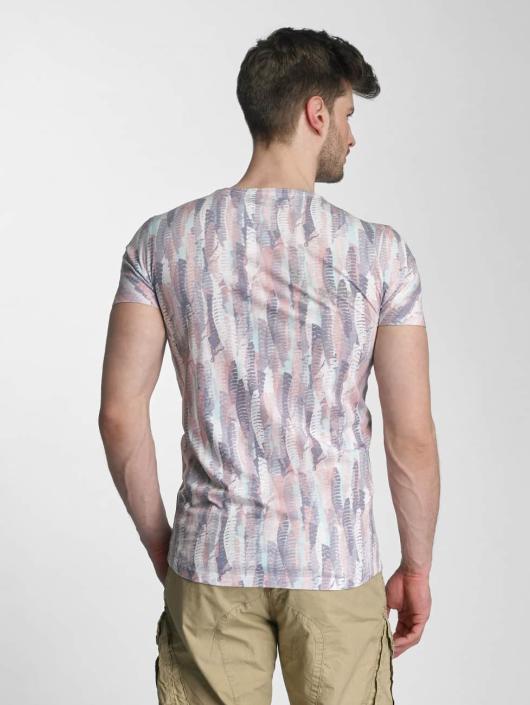 Lindbergh T-Shirt Allover Print O-Neck colored