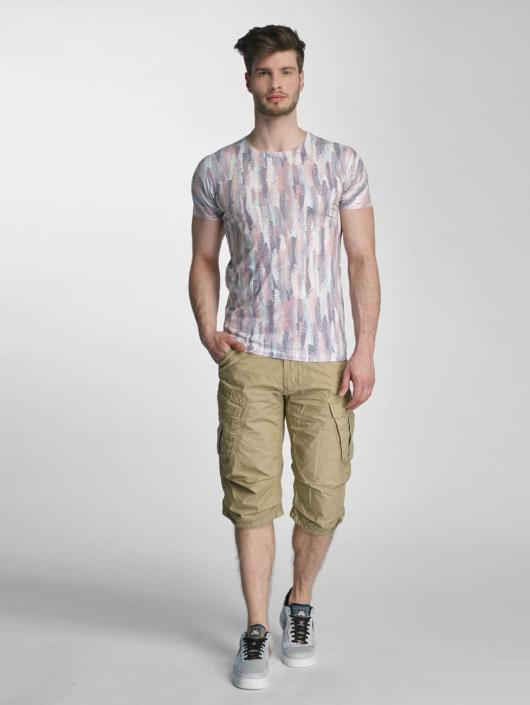 O 313663 Homme T Multicolore Lindbergh neck Allover shirt Print 34jA5LR