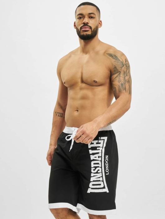 Lonsdale London Badeshorts Clennell schwarz
