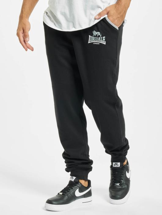 Lonsdale London Jogginghose Lion Tow Tones Sweat schwarz