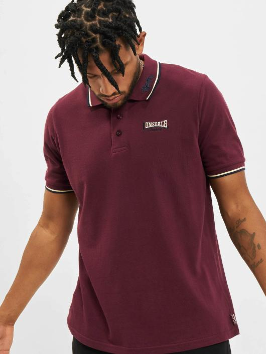 Lonsdale London Poloshirt Lion rot