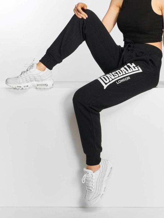 Lonsdale London Spodnie do joggingu Thurso czarny