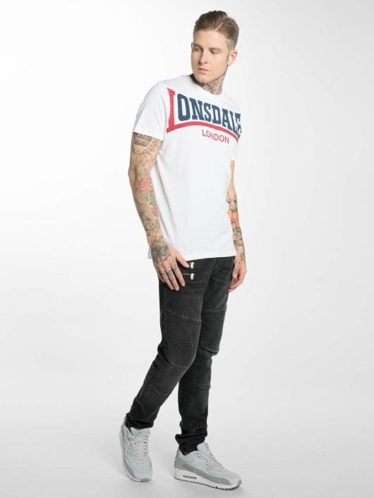 Lonsdale London T-paidat Creaton valkoinen