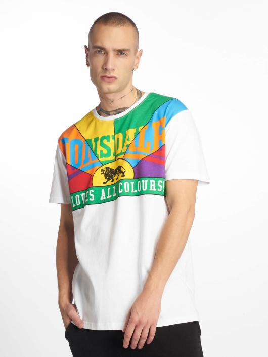 Lonsdale London Homme shirt 102998 Blanc T Loves All Colours PkTOXZiu