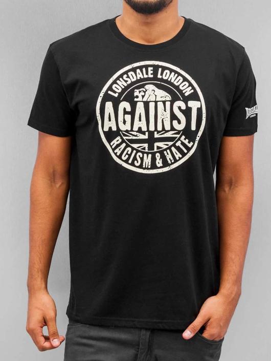 Lonsdale London T-Shirt Against Racism noir