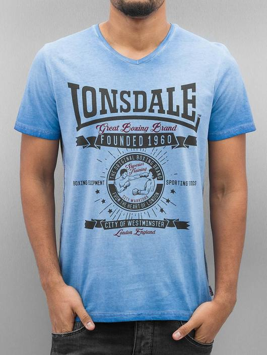Lonsdale London T-skjorter Peebles blå