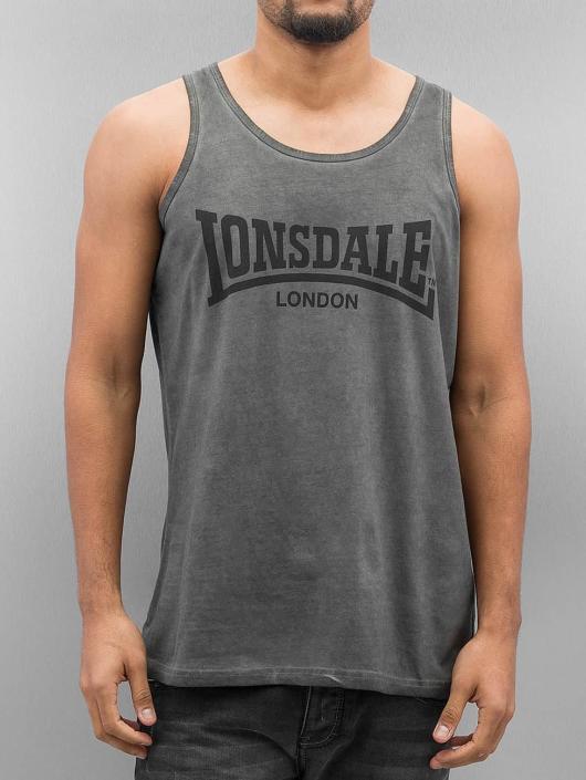 Lonsdale London Tank Tops Hartbottle šedá