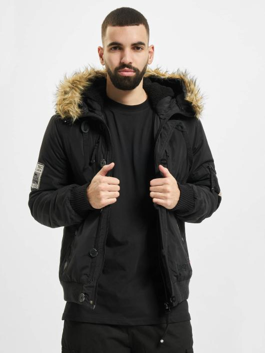 Lonsdale London Winterjacke Jarreth schwarz