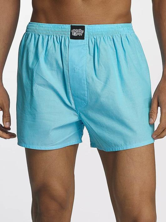 Lousy Livin  Shorts boxeros Plain azul