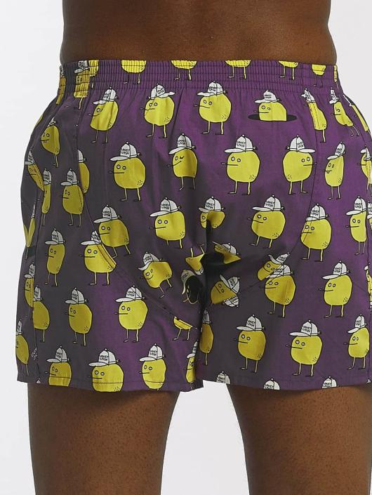 Lousy Livin Boxershorts Zitrone violet
