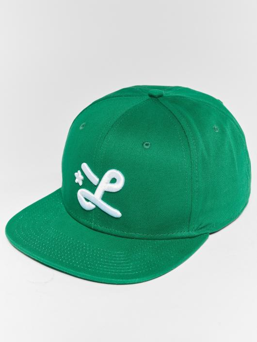 LRG Snapback Cap Down With The L green