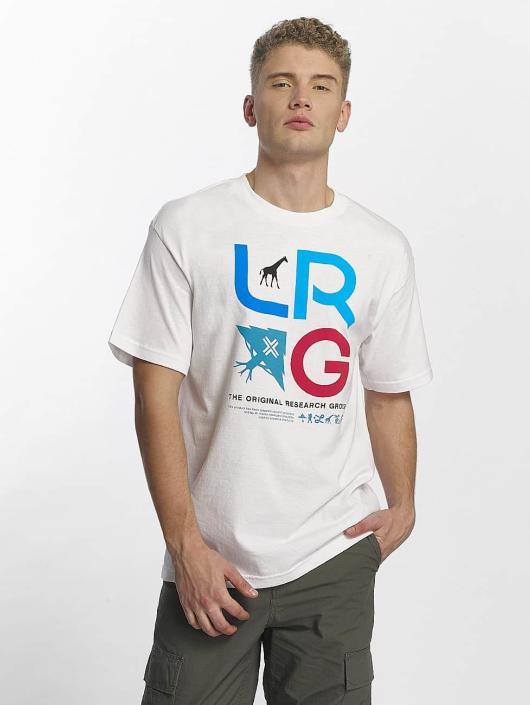 LRG T-paidat Research Icon valkoinen