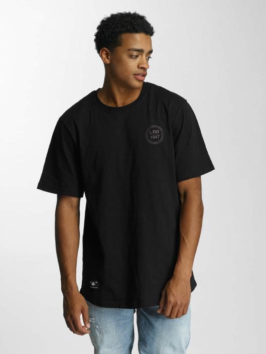 LRG T-Shirty 1947 Scoop czarny