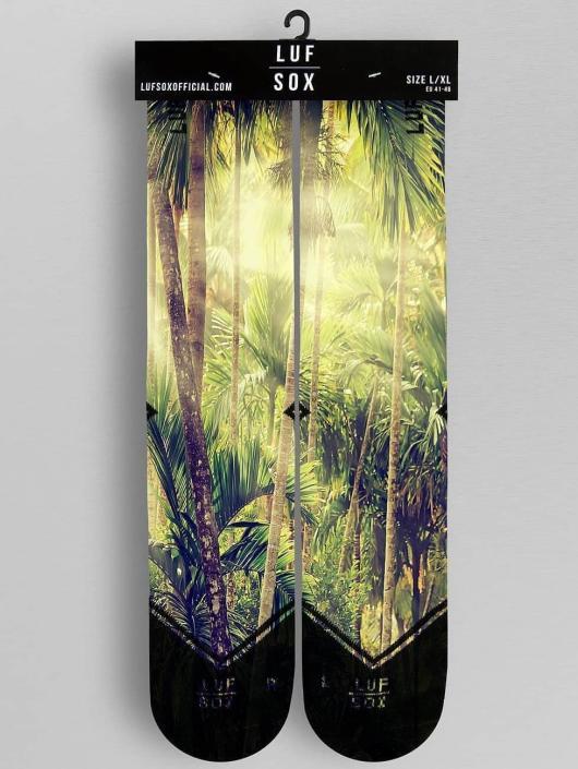 LUF SOX Chaussettes Jungle multicolore
