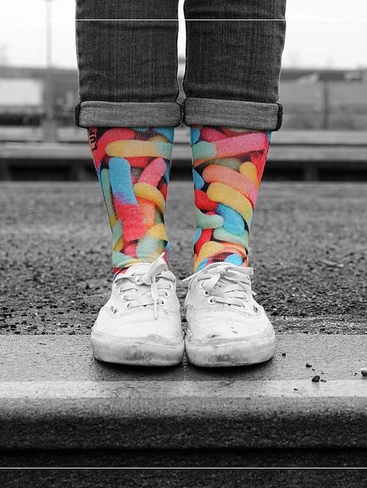 LUF SOX Socks SOX Classics Gummy Worms colored