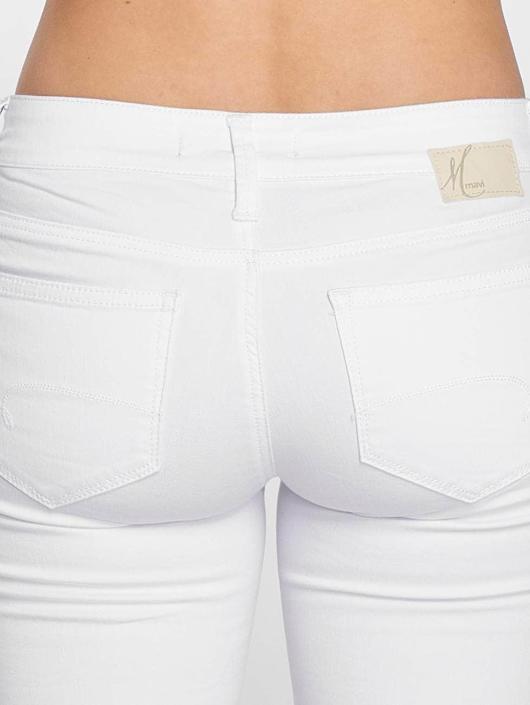 Mavi Jeans Šortky Alma bílý