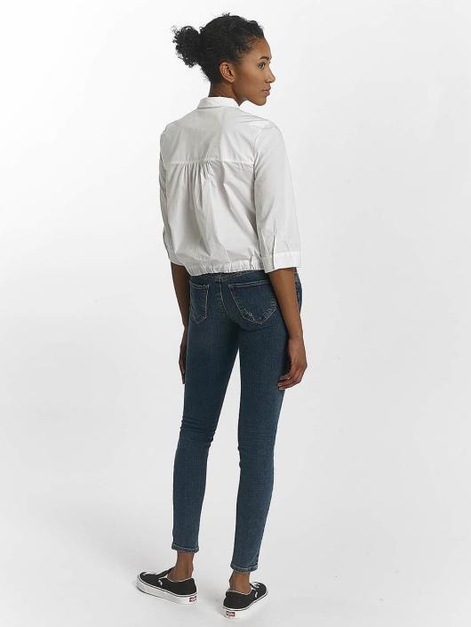 Mavi Jeans Blouse/Tunic Drawstring white