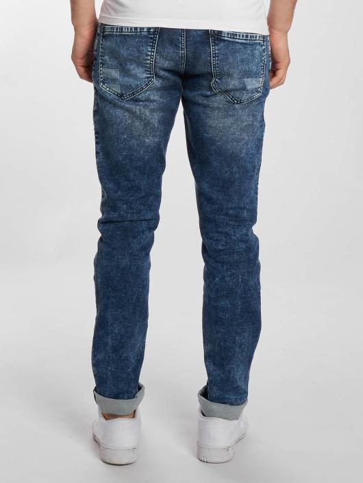 Mavi Jeans dżinsy przylegające Jim Biker niebieski