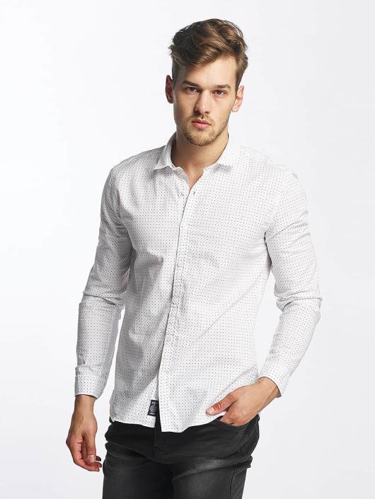 Mavi Jeans Hemd Printed weiß