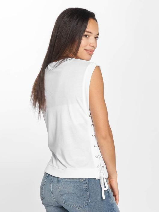 Mavi Jeans Hihattomat paidat Sleeveless valkoinen