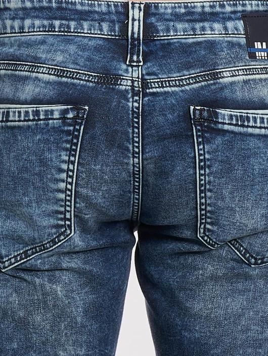 Mavi Jeans Jean slim Jim Biker bleu
