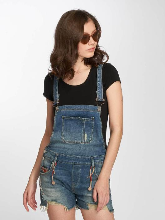 Mavi Jeans Kalhoty s laclem Meryn modrý