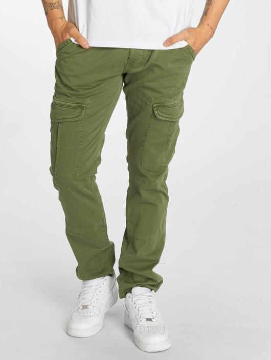 Mavi Jeans Pantalon cargo Yves Cargo Button Fly vert