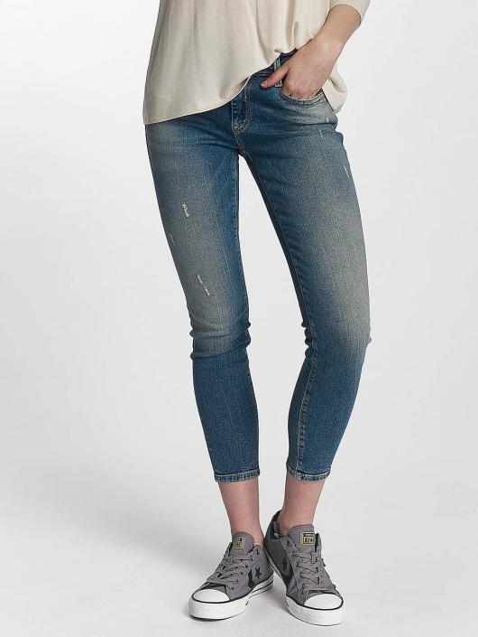 Mavi Jeans Skinny Jeans Adriana Mid Rise Super Skinny blau