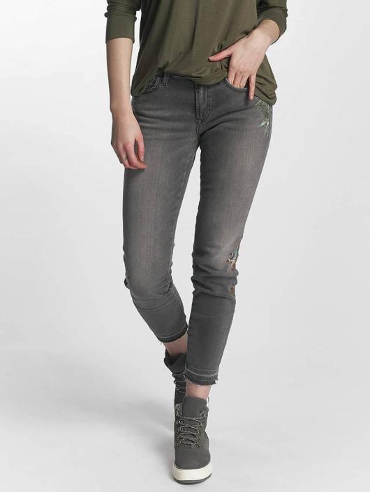 Mavi Jeans Skinny Jeans Adriana Mid Rise Super gray
