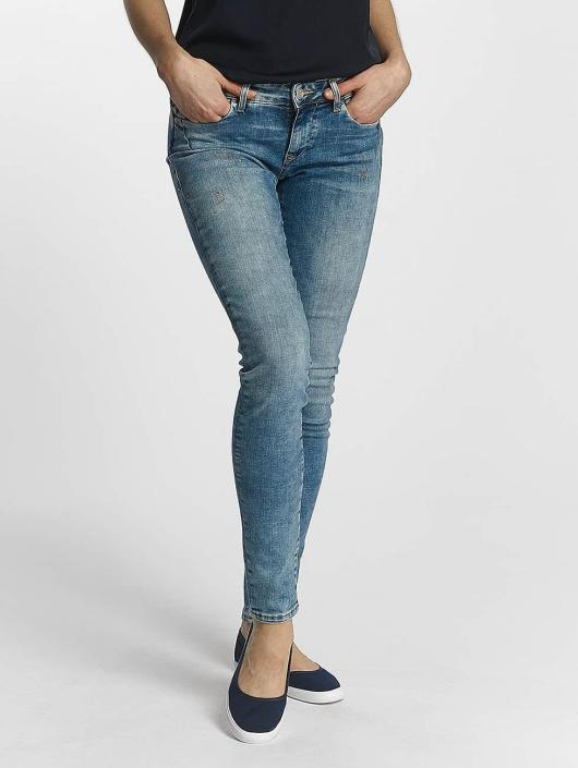 Mavi Jeans Skinny Jeans Serena Low Rise modrý