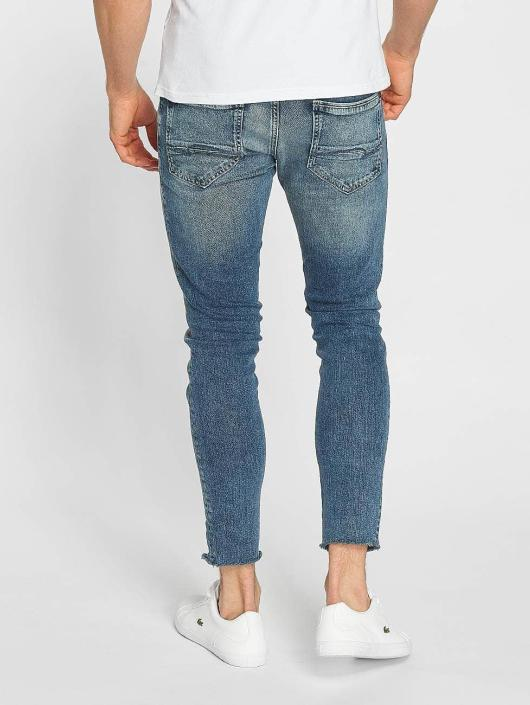Mavi Jeans Straight Fit Jeans Leo Cropped blå