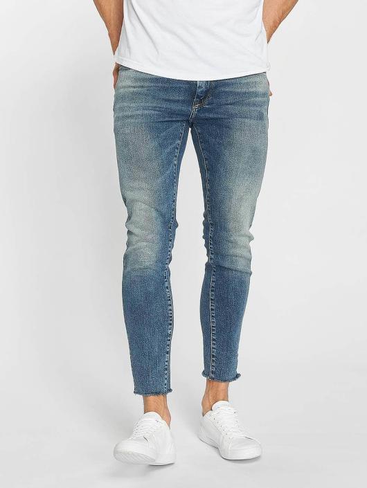 Mavi Jeans Straight Fit Jeans Leo Cropped blau