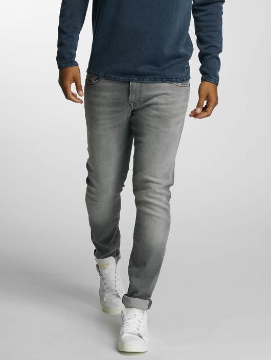 Mavi Jeans Straight Fit Jeans James grå