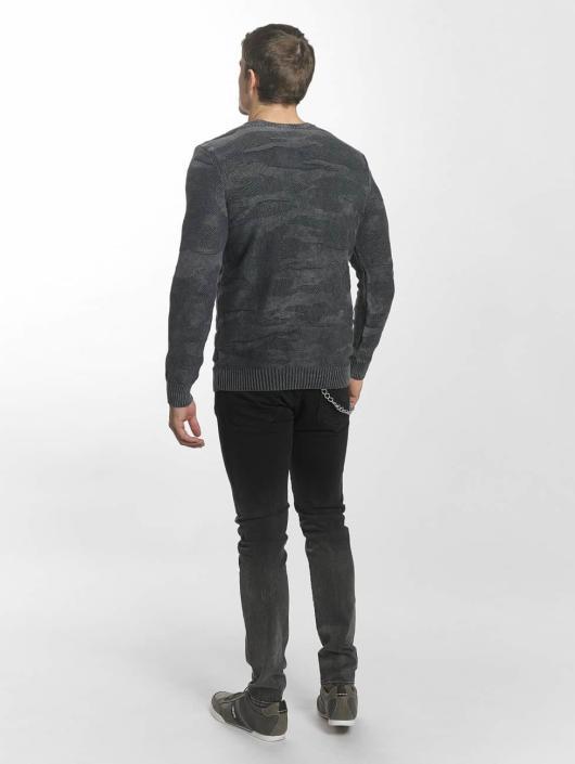 Mavi Jeans Swetry Jacquard szary