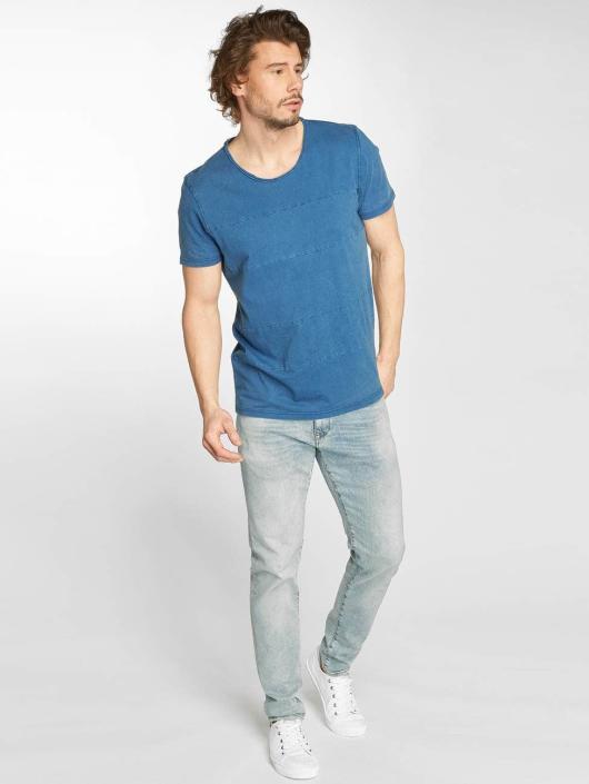 Indigo Homme Jimmy Jeans Mavi T shirt 415001 ZiPOXku
