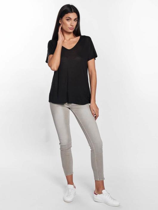 Mavi Jeans T-Shirt V-Neck noir
