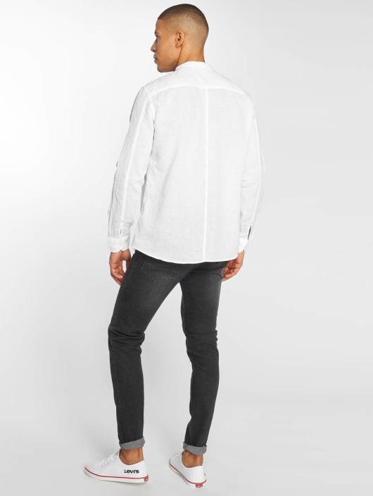 Mavi Jeans T-Shirty Double Pocket bialy