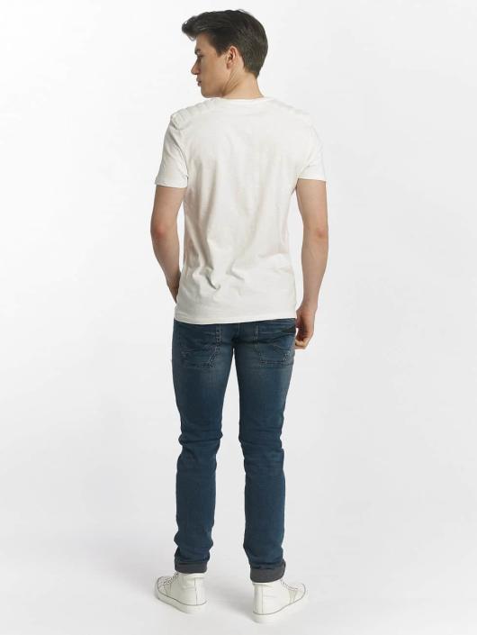 Mavi Jeans Tričká Whitecore biela