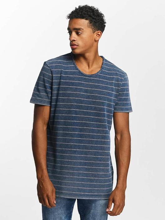 Mavi Jeans Tričká Indigo Stripe indigo